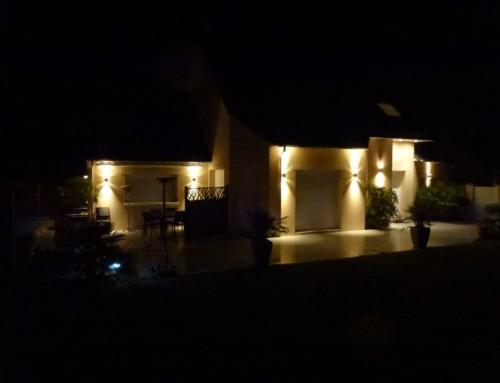 Éclairage et gestion domotique