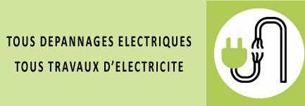 TOUS DEPANNAGES ELECTRIQUES - TOUS TRAVAUX D'ELECTRICITE