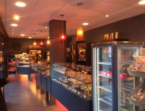 Boulangerie pâtisserie Caen éclairage et sécurité incendie