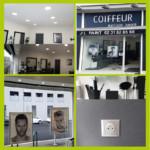Eclairage intérieur extérieur salon de coiffure Caen