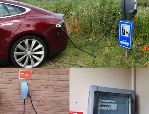 Installation borne de recharge pour voiture électrique Caen
