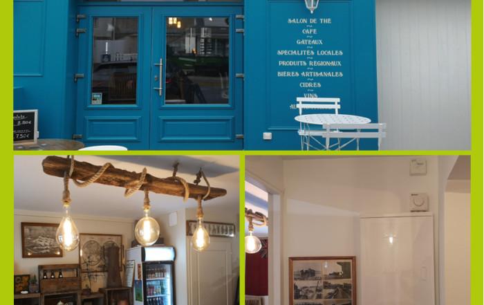 Remplacement tableau électrique et ventilation dans un salon de thé