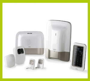 Alarme anti-intrusion - centrale caméra sirène détecteurs