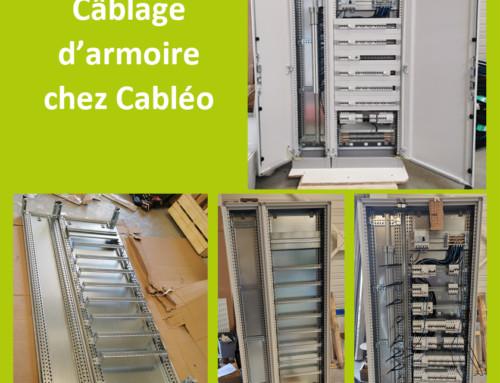 câblage d'armoire électrique supermarché Caen