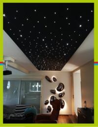 Installation ciel étoilé LED - spécialiste éclairage caen - électricien caen