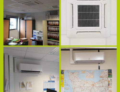 Installation d'une climatisation réversible à Caen